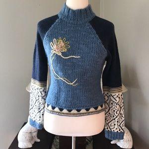 Boutique Wool Sweater Sz S/M